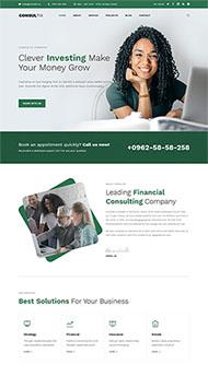 创业项目投资公司网站模板