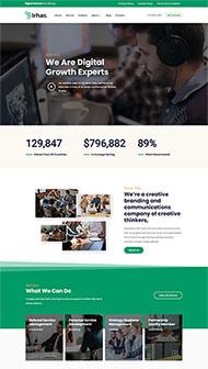 數字軟件信息科技公司網站模板
