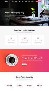 創意設計機構網站模板