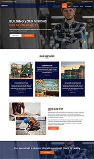 勘測建筑工程公司官網網站模板