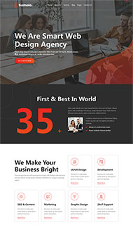 web軟件應用開發公司網站模板
