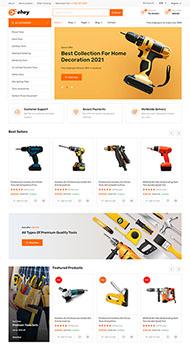 家用電器商城響應式HTML5模板