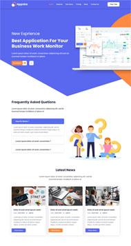 全域數據智能服務商網站模板