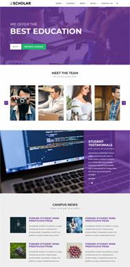 職業技能培訓機構網站模板