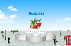 PSD商務廣場噴水池