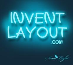 藍色熒光字體背景psd素材