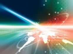 光影科技背景PSD分層素材
