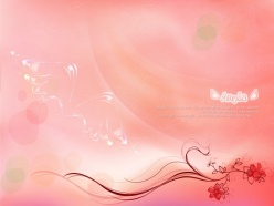 粉色花紋背景源文件素材