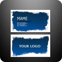 個性名片設計PSD模板素材