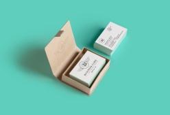 名片與名片盒PSD素材