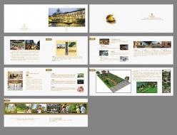 折頁畫冊模板PSD設計素材