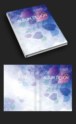 紫色森林夢幻畫冊封面