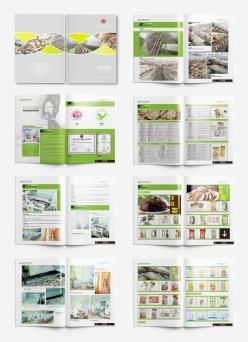 香菇食品畫冊宣傳冊