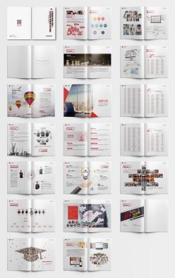 教育機構企業宣傳畫冊