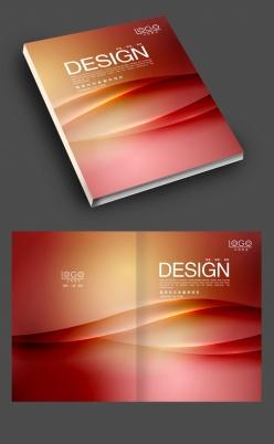 紅色潮流炫酷封面設計