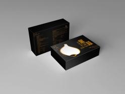 黑蒜食品包裝盒設計