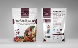 果蔬零食脆片包裝袋設計