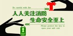 消防安全溫馨提示語設計源文件