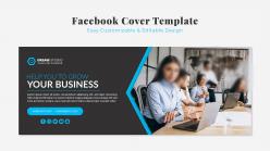 企業商務facebook封面模板