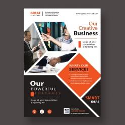創意商務宣傳單排版設計