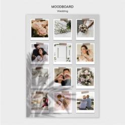 婚慶照片展示樣機模板PSD