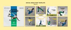 足球培訓招生宣傳畫冊設計