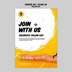 加入我們英文海報背景設計