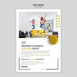 房地產宣傳海報設計