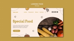 新鮮果蔬食品網頁登錄設計