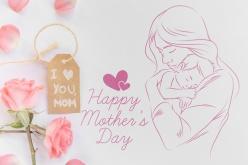 母親節快樂PSD源文件素材