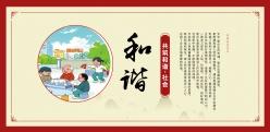 共筑和諧PSD社區宣傳海報