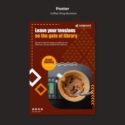 滴漏咖啡廣告宣傳海報