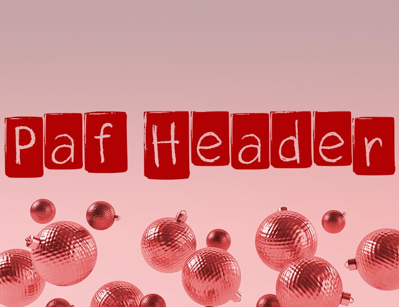 paf-header-regular字體下載