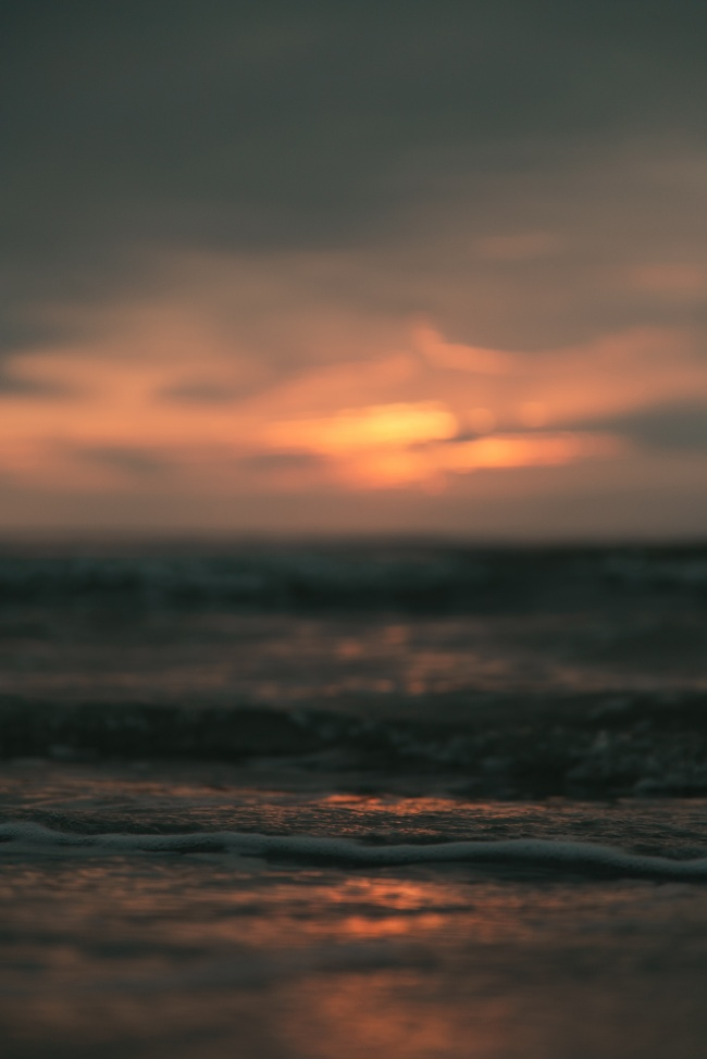 大海海水唯美意境圖片